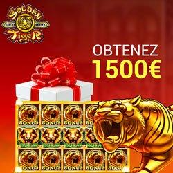 Bonus sans dépôt du casino en ligne Golden Tiger